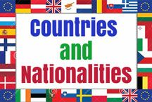 Free ESL EFL teaching resources about countries and nationalities. These captivating worksheets, games and lessons are ideal for English teachers to use.