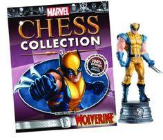 Marvel Chess Figure & Magazine #3 Wolverine White Knight