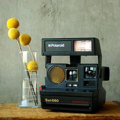 Polaroid Sun 660 Land Camera Vintage 80's Retro Instant by vint, $36.00