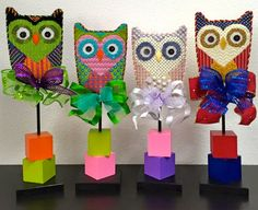 Hoot Hoot Owls by EyeCandy Needleart