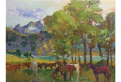 Mountain Pasture by Robert Caples on OneKingsLane.com