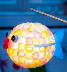 Obvious: DIY ideas for great lanterns Fall Art Projects, Projects For Kids, Diy For Kids, Crafts For Kids, Fall Crafts, Halloween Crafts, Diy And Crafts, Kindergarten Art Projects, Mid Autumn Festival