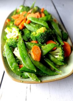 This simple and easy side dish of sauteed veggies is healthy and delicious. Get the recipe from The Cheerful Kitchen.