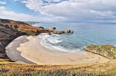 Playa de Torimbia, Mar Cantábrico - Niembro, Concejo de Llanes, Asturias