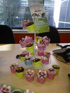 A delicious shot of Tenants Union of NSW's Cupcake Day party http://www.rspcacupcakeday.com.au/