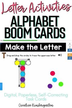 Reinforce uppercase and lowercase letter recognition, letter formation, and letter sounds with hands-on and engaging Boom Card activities. These digital task cards will work on learning to identify and name the letter Q. Use this deck for letter of the day, letter of the week or all year to reinforce alphabet knowledge.This pack includes activities for uppercase and lowercase letters, letter discrimination, letter sounds, letter building, and sorting. Literacy Skills, Kindergarten Literacy, Alphabet Activities, Literacy Activities, Alphabet Writing, Letter Formation, Uppercase And Lowercase Letters, Letter T, Letter Recognition