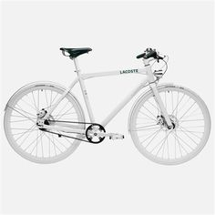 Lacoste urban bicycle