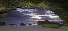 Sunrise at the cave  by madarchie0 - offline.