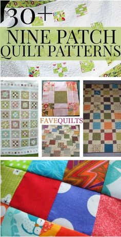 Free Nine Patch Quilt Patterns   Other Nine Patch Designs | FaveQuilts.com
