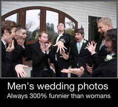 Men's wedding photos