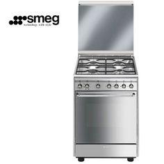 Smeg cocina CX60SV9 con horno eléctrico