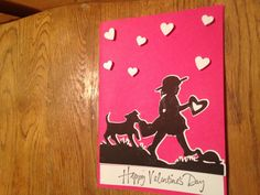 Valentines Day Cards by scrappinbjs. Explore more products on http://scrappinbjs.etsy.com