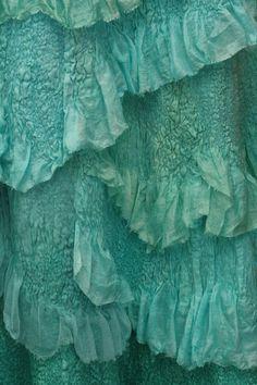 A Spoondrift Birth / NunoFelted Clothing / Skirt by LybaV on Etsy