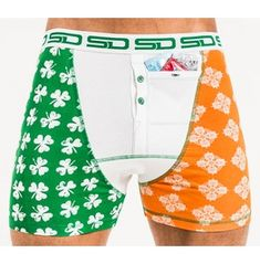 Mens Beach Swim Trunks Carton Farm Animals Boxer Swimsuit Underwear Board Shorts with Pocket