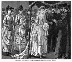 Jewish wedding scenes-- a favorite collectible of mine
