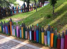 Creative Ideas for Garden Fence Design & DIY Magazine Design Diy, Fence Design, Garden Design, Modern Design, Interior Design, Front Yard Fence, Diy Fence, Fence Ideas, Pallet Fence