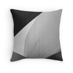 Zaha Hadid // Cushion  A glimpse of Zaha Hadid's Maxxi Gallery in Rome, this print will add texture to your modern/industrial interior.