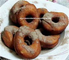 Rosquinhas de leite condensado e coco (rosquinha frita) - Espaço das delícias culinárias