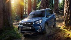 Компания Subaru изменила дизайн Forester