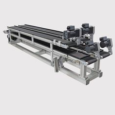 Montech AG is continually moving forward and always striving to improve our products. We are specialists in belt conveyors for the automation of transport systems, assembly and manufacturing processes. Conveyor System, Puffer, Industrial, Automotive Industry, German, English, 3d, Deutsch, German Language