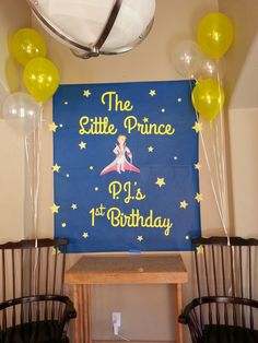 little prince themed birthday party - Google Search