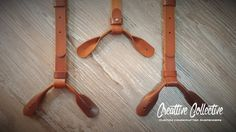 Leather Suspenders · Wedding Suspenders · 100% Handcrafted - Sevilla Custom Brown Vintage for Buttons by Creattive Collective on Etsy!