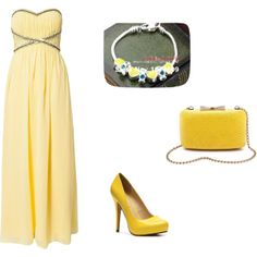 """""""yellow"""" by anna99-486 on Polyvore"""