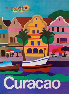 American Airlines to Curacao ~ Paul Degen