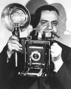 Weegee was the pseudonym of Arthur Fellig (June 12, 1899 – December 26, 1968), a photographer and photojournalist, known for his stark black and white street photography. Weegee worked in the Lower East Side of New York City as a press photographer during the 1930s and '40s, and he developed his signature style by following the city's emergency services and documenting their activity.