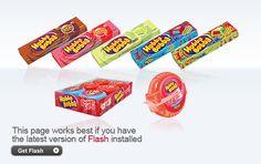 Hubba Bubba, vain vaaleanpunaisessa paketissa oleva :)