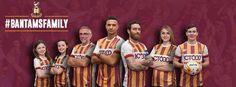 Quarta camisa do Bradford City 2017 Avec Sport