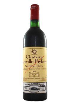 Chateau Leoville Poyferre 1982 Chateau Leoville Poyferre from Fraziers Wine Merchants
