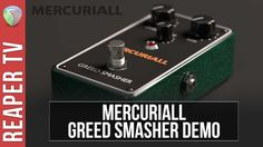 TESTED: The all new and free #Mercuriall Greed Smasher stomp box VST tested and reviewed https://www.youtube.com/watch?v=Qnri-hWNatA&t=39s @pr_mercuriall