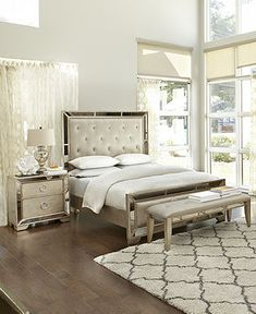 Ailey Bedroom Furniture Collection - Mirrored Furniture - Furniture - Macy's