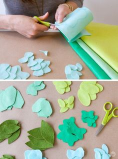 A fresh felt succulent wreath tutorial - Think. A fresh felt succulent wreath tutorial - Felt Diy, Felt Crafts, Diy And Crafts, Stick Crafts, Cardboard Crafts, Summer Crafts, Creative Crafts, Wood Crafts, Paper Crafts