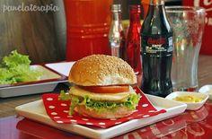 Hamb. Vegetariano de grão