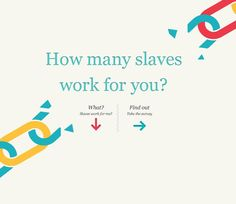 I like the simple, high impact question asked at http://slaveryfootprint.org/