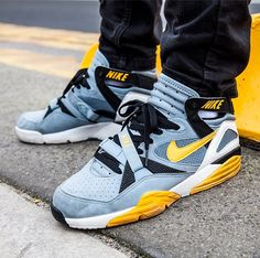 Nike Air Trainer Max '91 (Stone Grey/Yellow/Black)