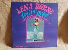 Lena Horne Feelin'Good Vintage Vinyl 33 by TheVintageRecordStop