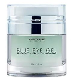 Majestic Pure Blue Eye Gel, Potent Anti Wrinkle and Dark Circle Eye Cream Formul. - Top 10 Best Korean Eye Creams in 2018 - Best Korean Eye Cream, Hair Gel For Men, Personal Beauty Routine, Instant Face Lift, Eye Cream For Dark Circles, Anti Ride, Facial Cream, Eye Gel, Eye Serum