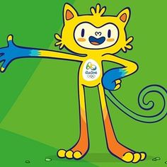 "This little guy says he is the mascot for the 2016 Olympics. He ""was born from the explosion of joy that rolled when they said that Rio would be the home of the Olympic Games"" 