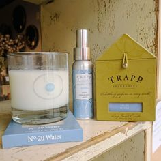 Our longest carried line at Crafted Decor years) is Trapp Candles - a bottle of perfume in every candle Trapp Candles, Fragrance Mist, Ontario, Finding Yourself, Perfume, Bottle, Water, Crafts, Decor