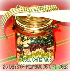 25 Frugal Christmas gifts