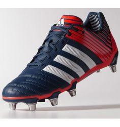 Adidas Adipower Kakari SG Rugby Boot in Rich Blue 0fbd2846f3cfc