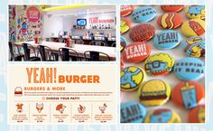 In A Saturated Burger Joint Market, This Is A Stand Out.  Love The Brand Design!