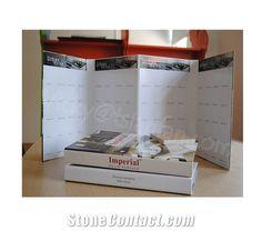 Cardboard Sample Book for Quartz Marble Granite Stone