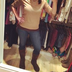 Morgan Jennifer Blog: It's An Ugg-y Kind Of Day / uggs / fall winter fashion / j.crew charley merino sweater / outfit
