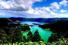 Arquipélago dos Açores - lagoas sete cidades