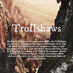 Trollshaws #tolkien