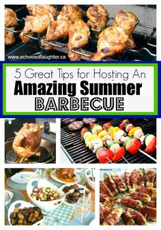 5 Great Tips For Hosting An Amazing Barbecue - Echoes of Laughter